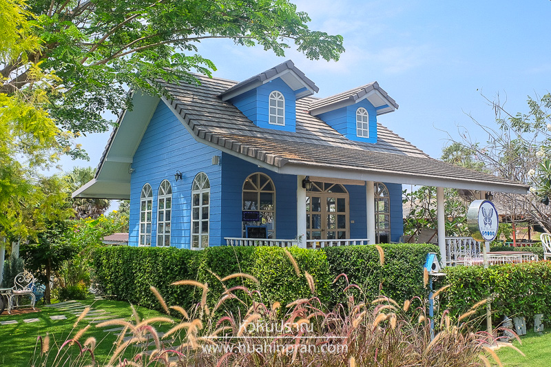 ิblue butterfly Cafe Pranburi
